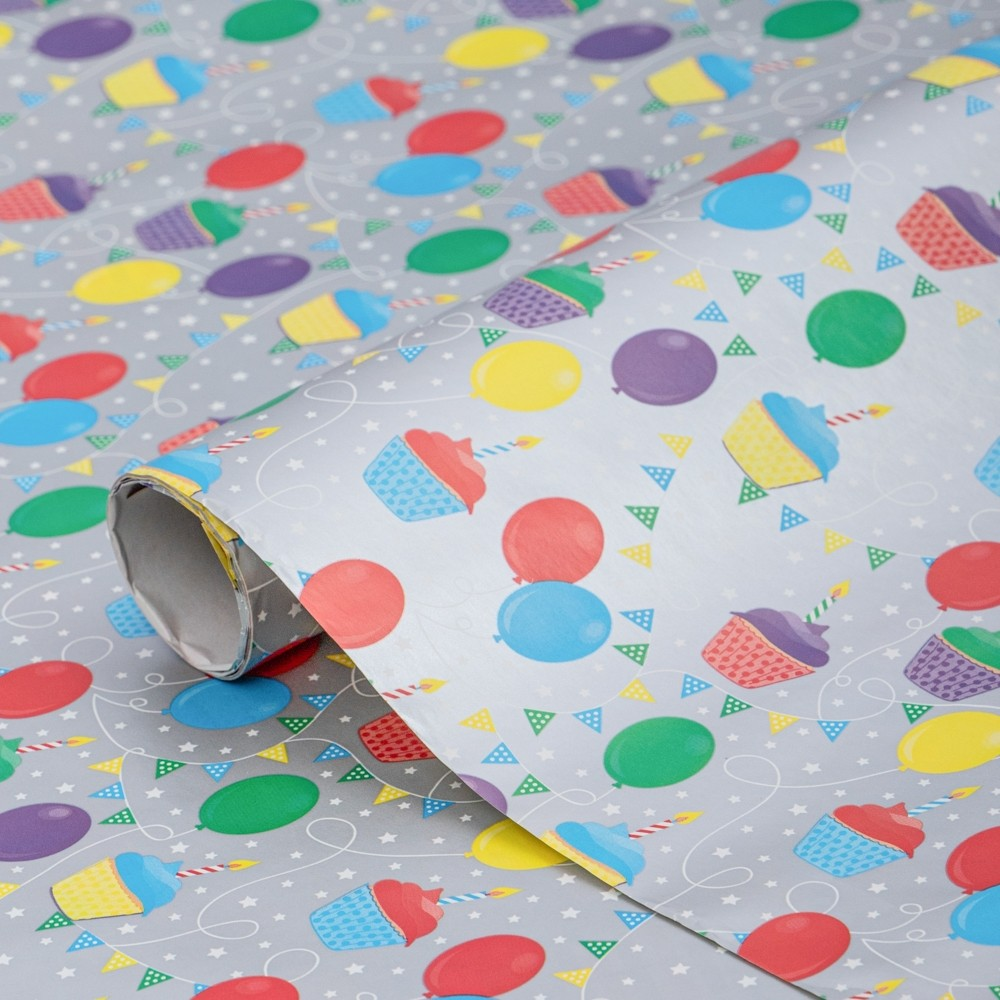 PARTY 3M GIFT WRAP ROLL