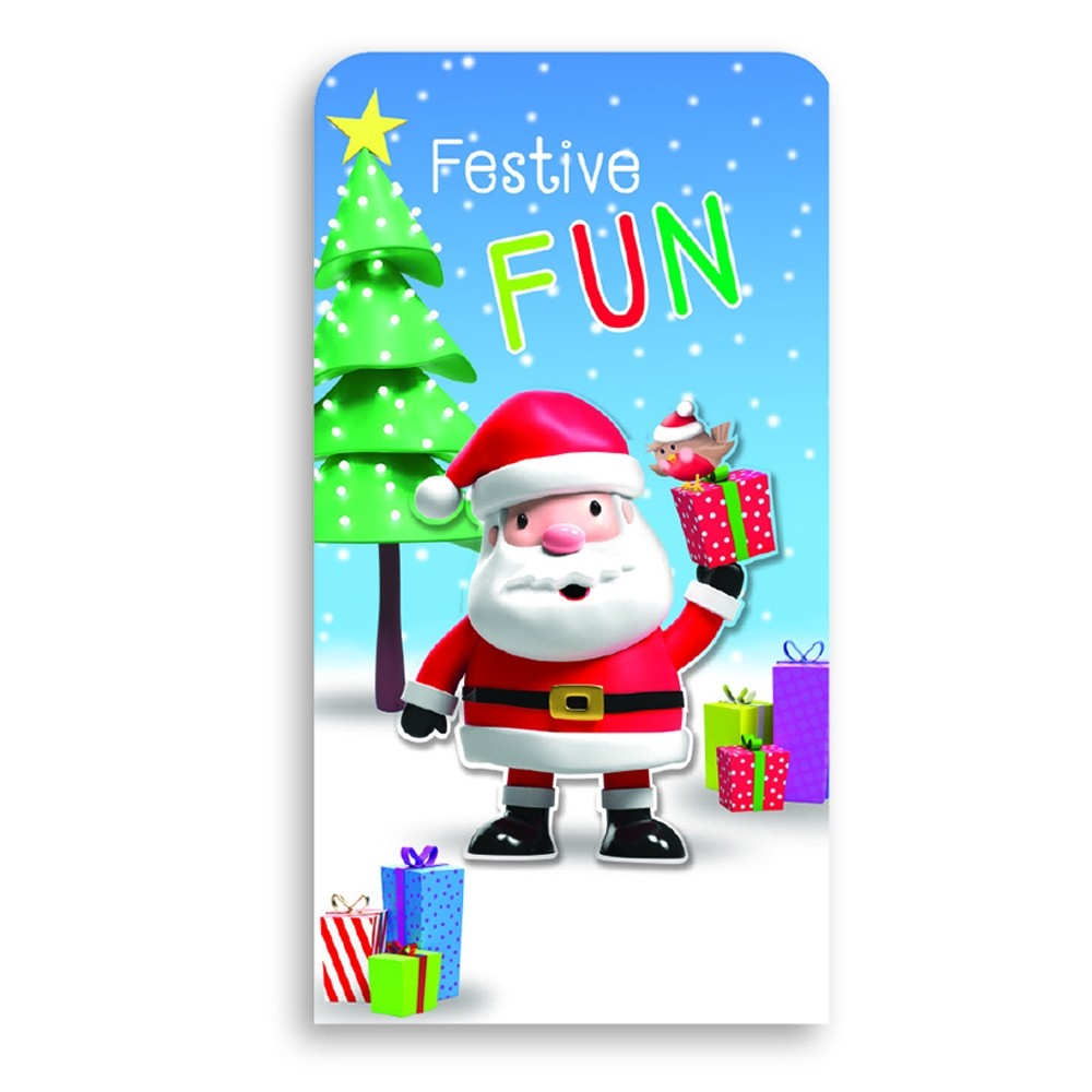 SINGLE MONEY WALLET - SANTA