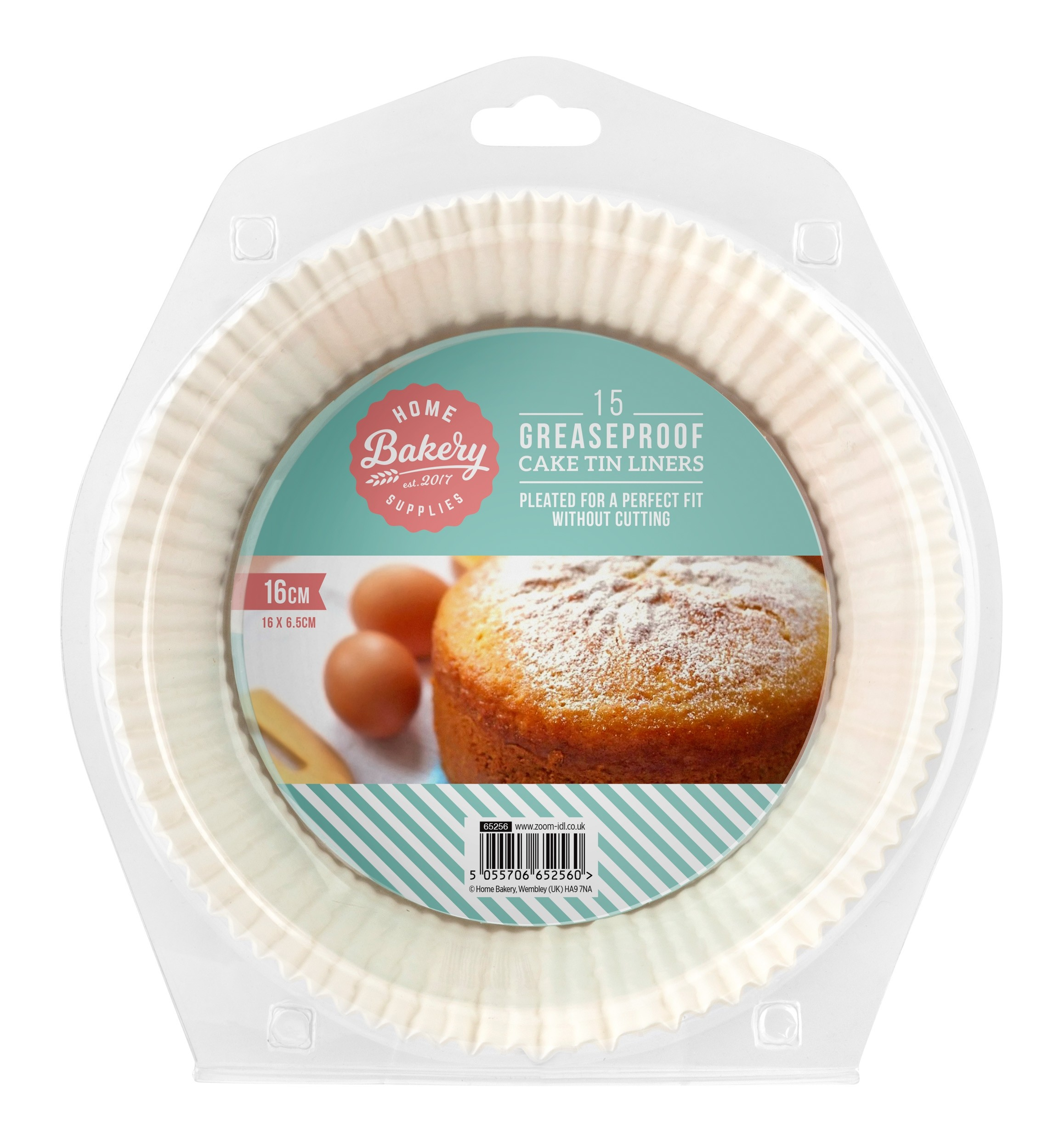15 GREASEPROOF CAKE TIN LINERS