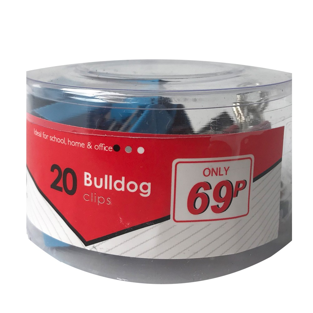 20 BULLDOG CLIPS