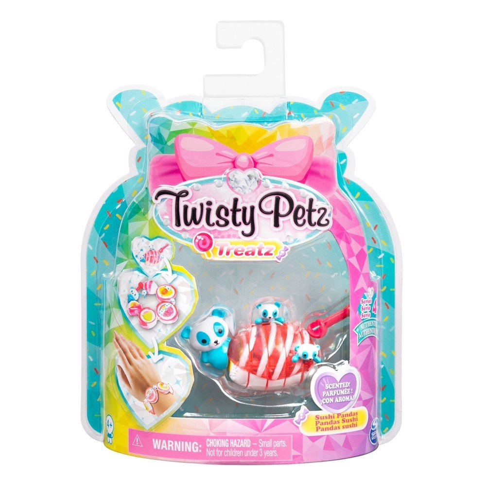 TWISTY PETZ TREATZ - SUSHI PANDA