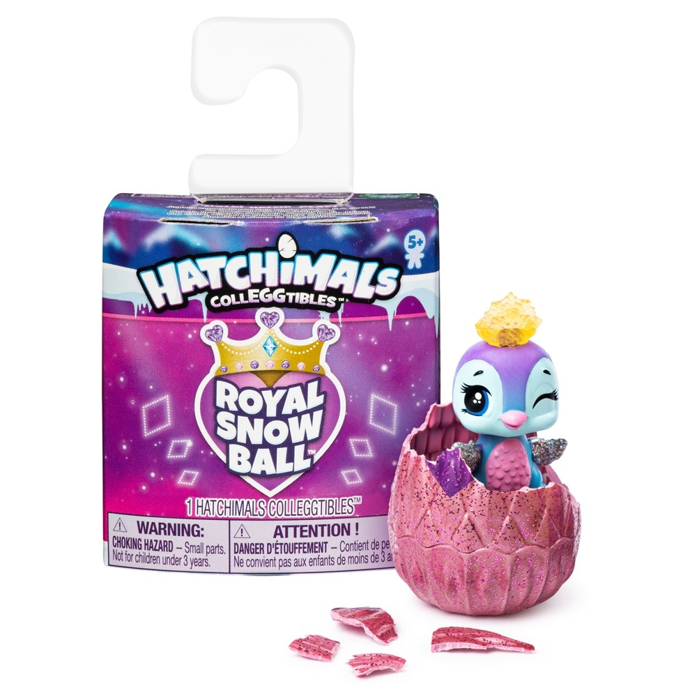 HATCHIMALS COLLEGGTIBLES - ROYAL SNOW BALL