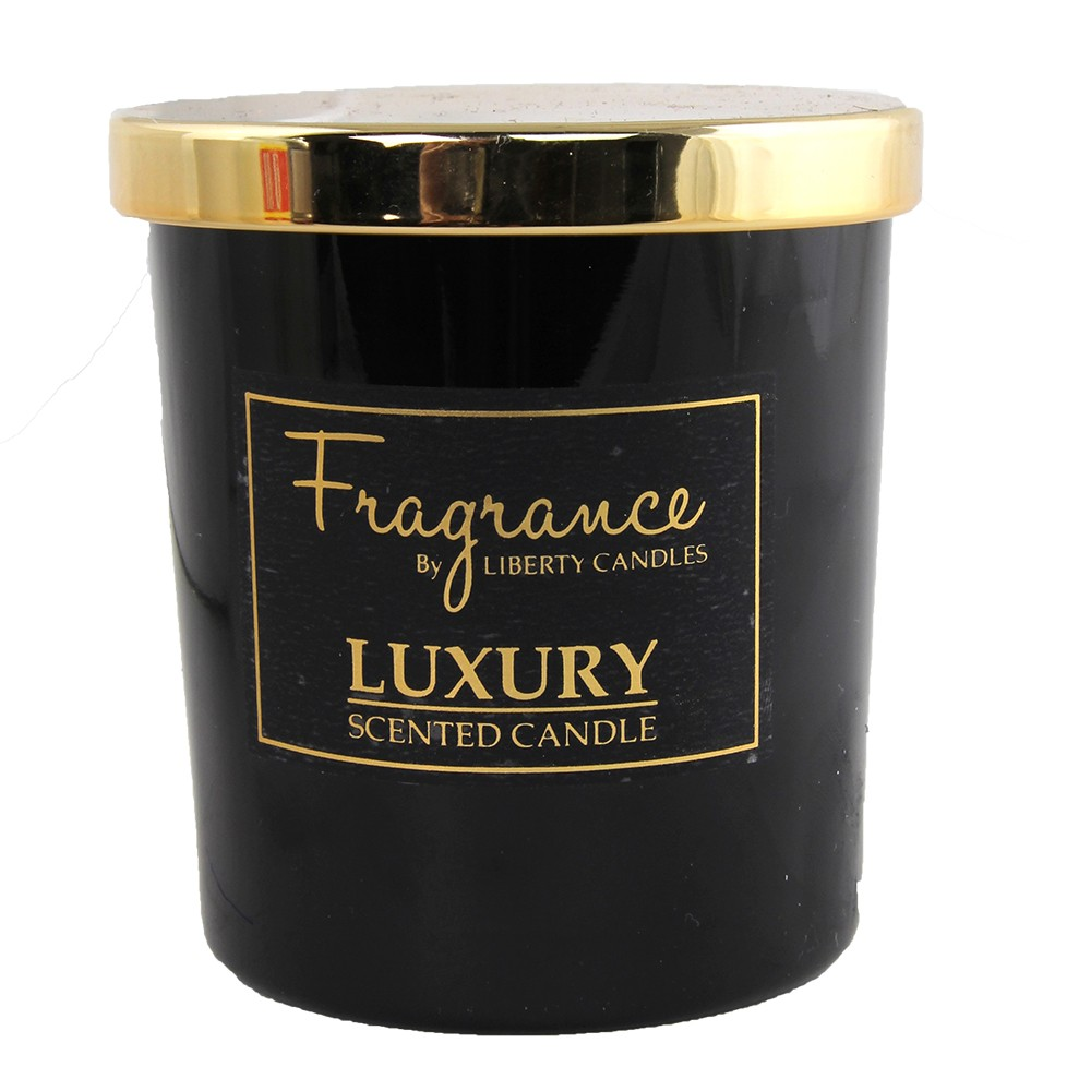 7OZ JAR LUXURY SCENTED CANDLE - BLACK