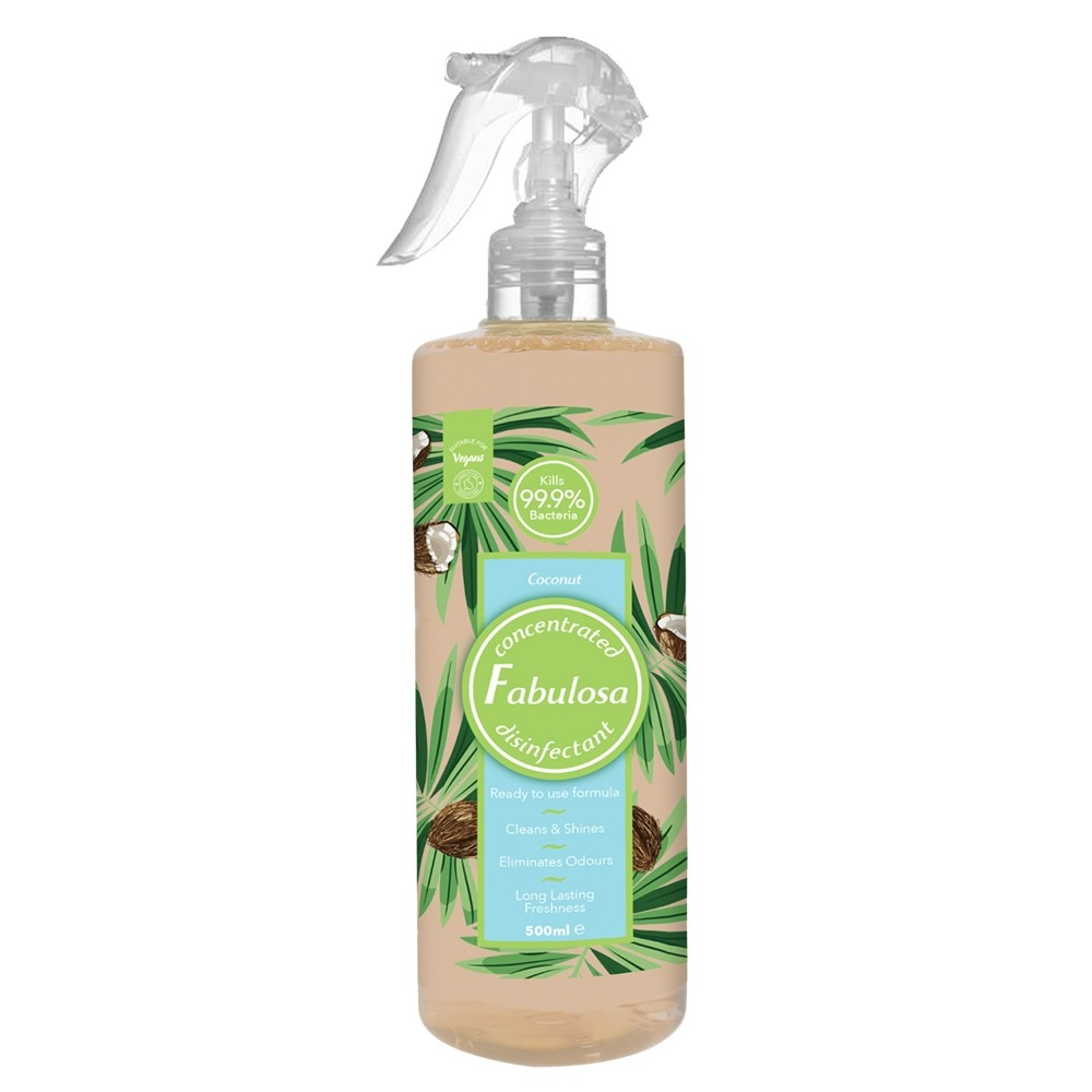 FABULOSA COCONUT ANTIBAC CLEANER SPRAY 500ML