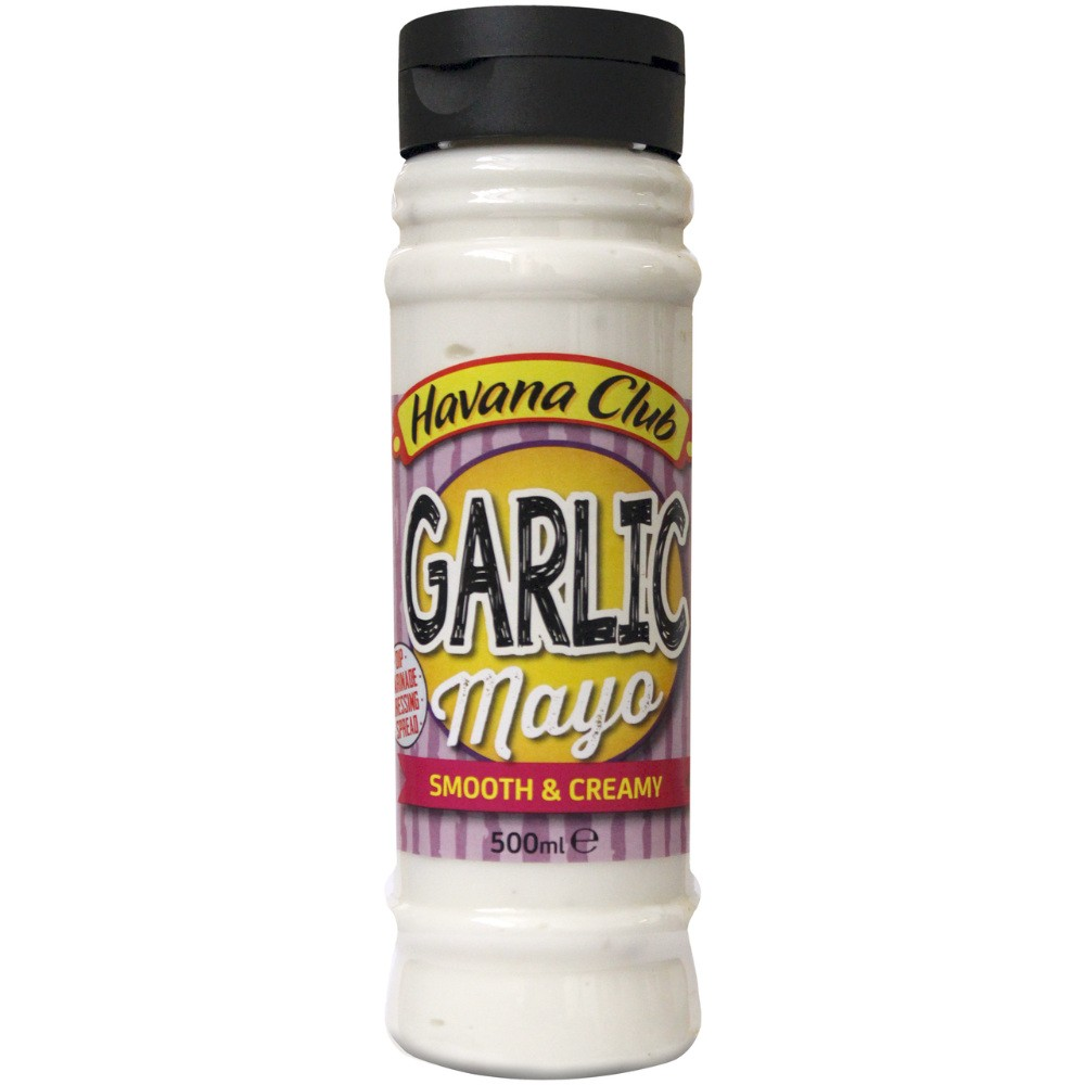 HAVANA CLUB GARLIC MAYONNAISE 500ML