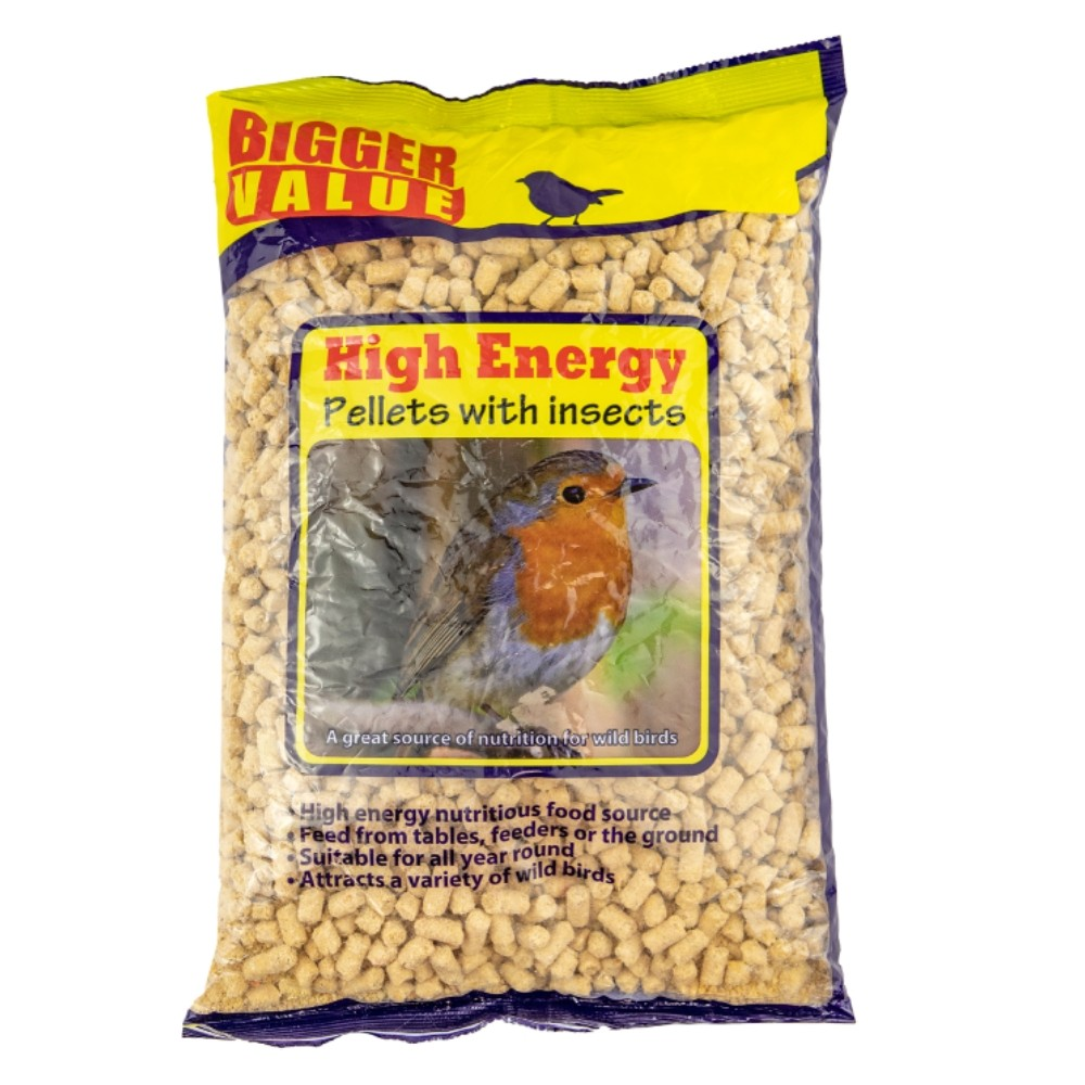SUET PELLETS INSECTS 1KG