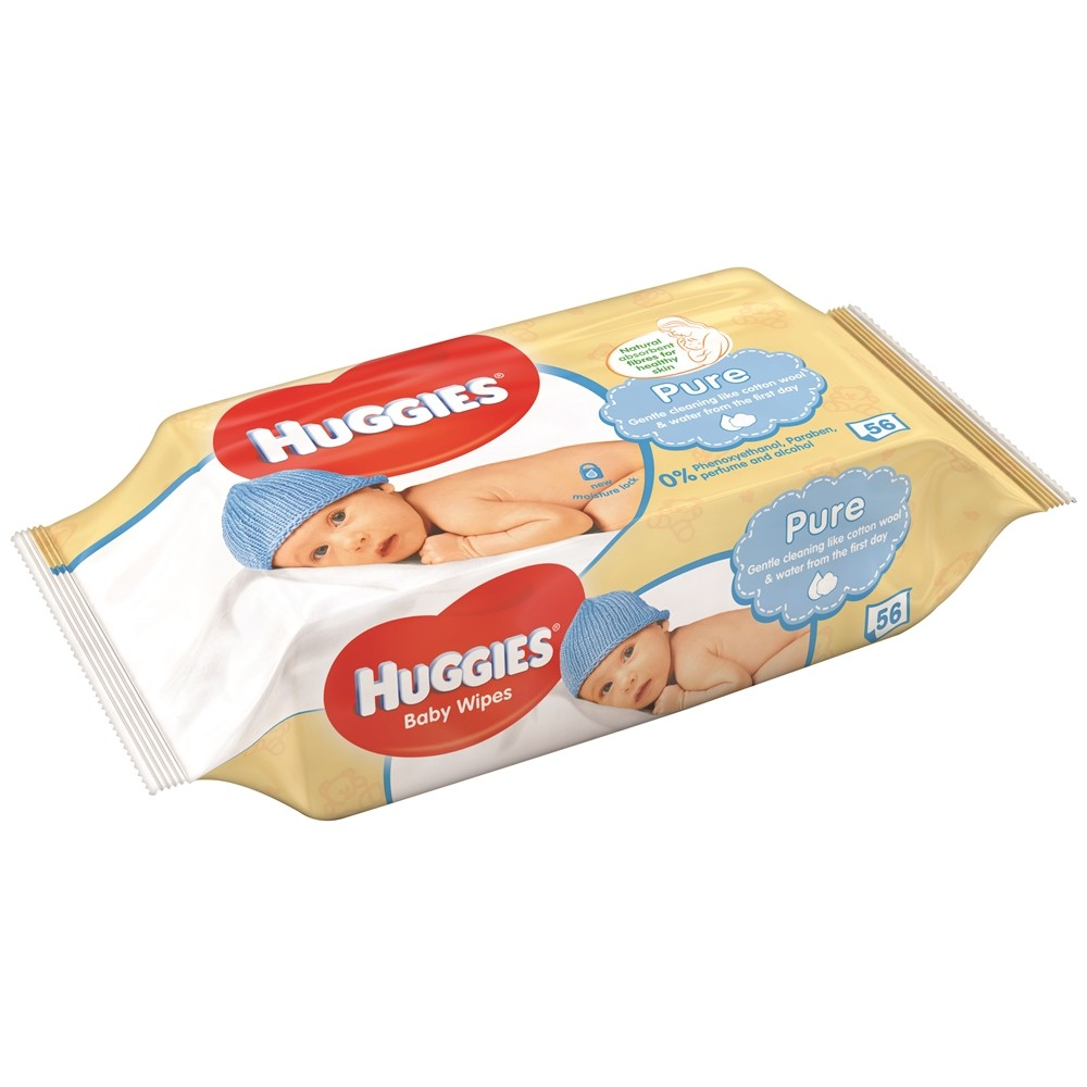 HUGGIES BABY 56 WIPES