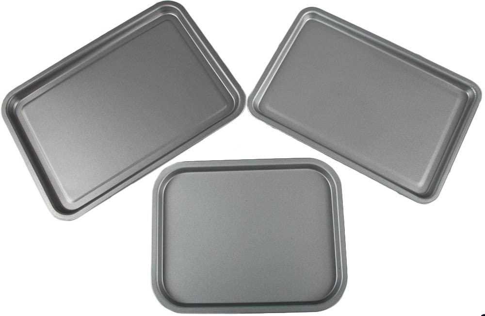 3 PIECE OVEN TRAY SET