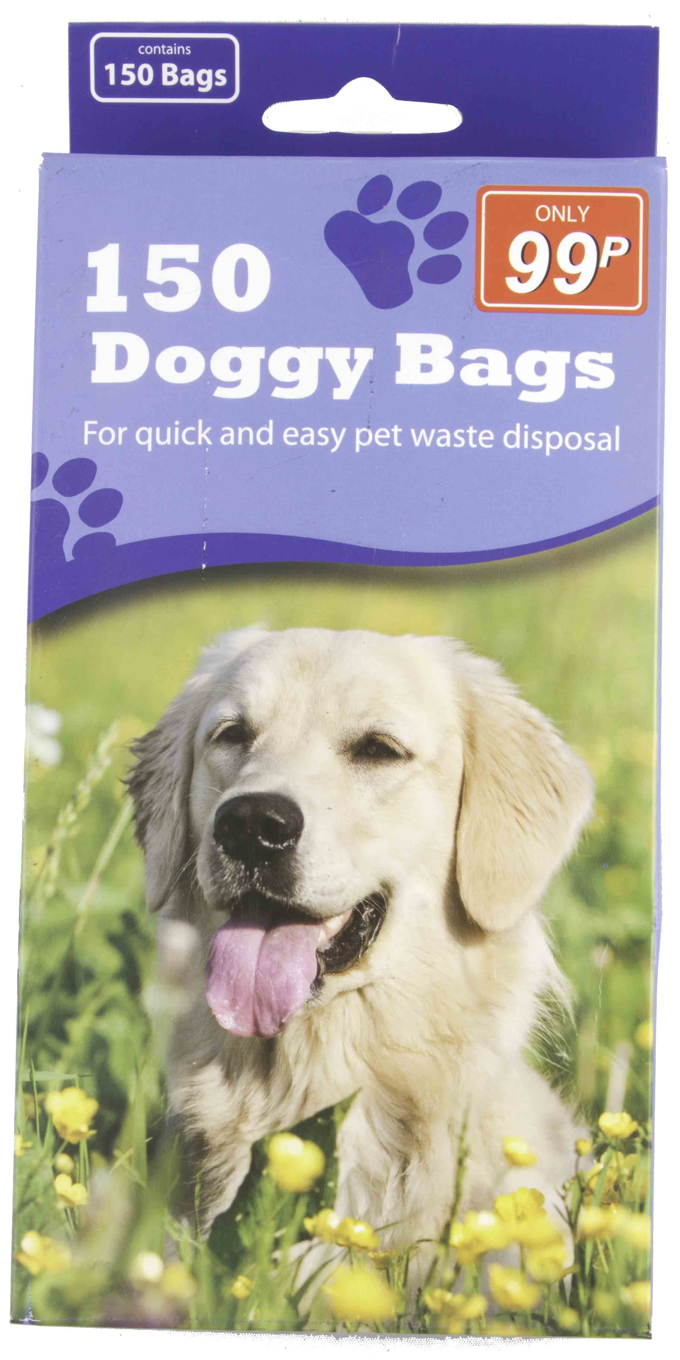 150 DOGGY CLEAN UP BAGS