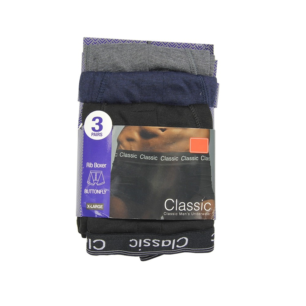 3 PACK CLASSIC BOXERS