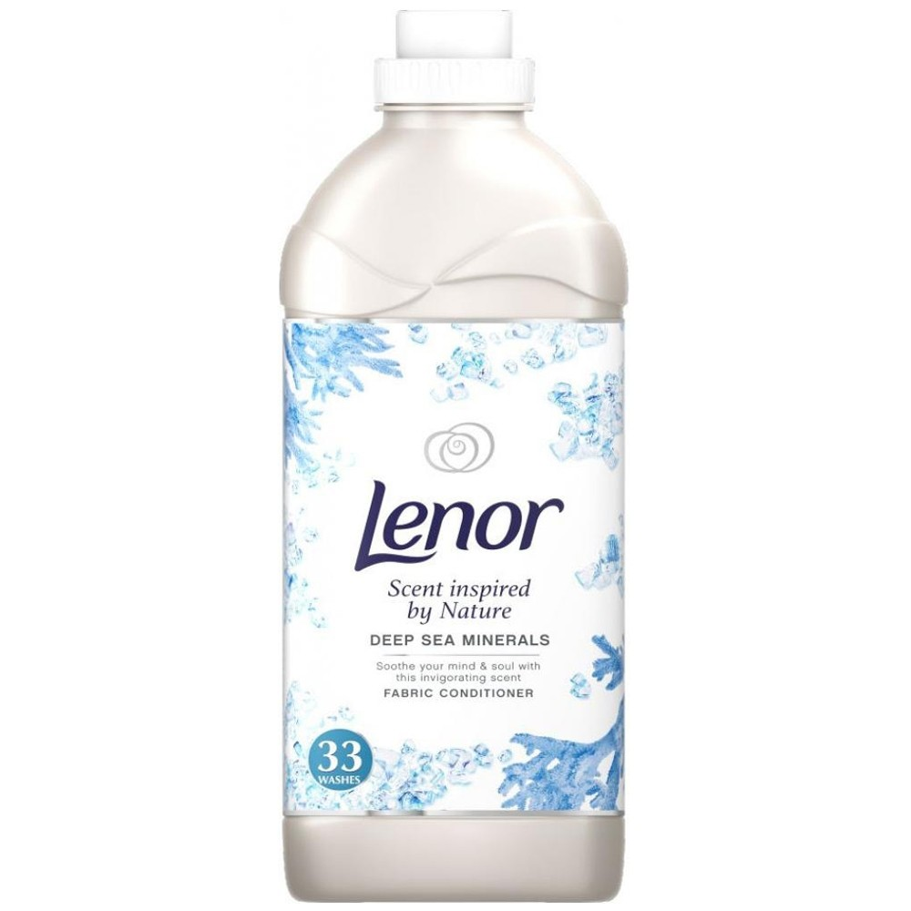 LENOR DEEP SEA MINERAL FABRIC CONDITIONER 33 WASHES