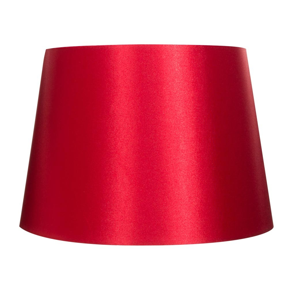 SATEEN SHADE - RED
