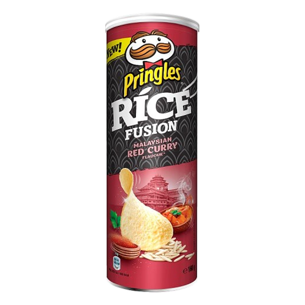 PRINGLES RICE FUSIONS RED CURRY 180G