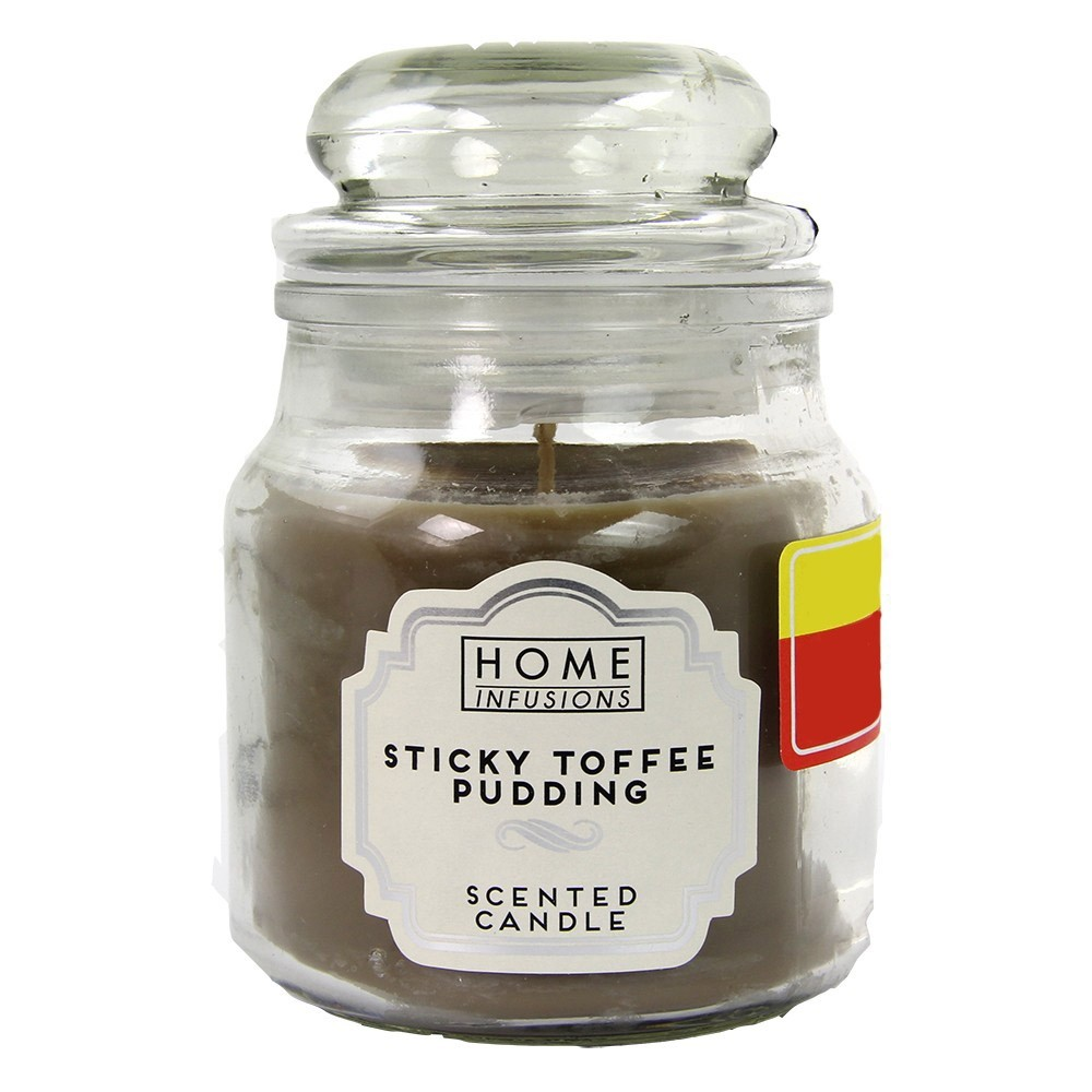 3OZ JAR CANDLE - STICKY TOFFEE PUDDING