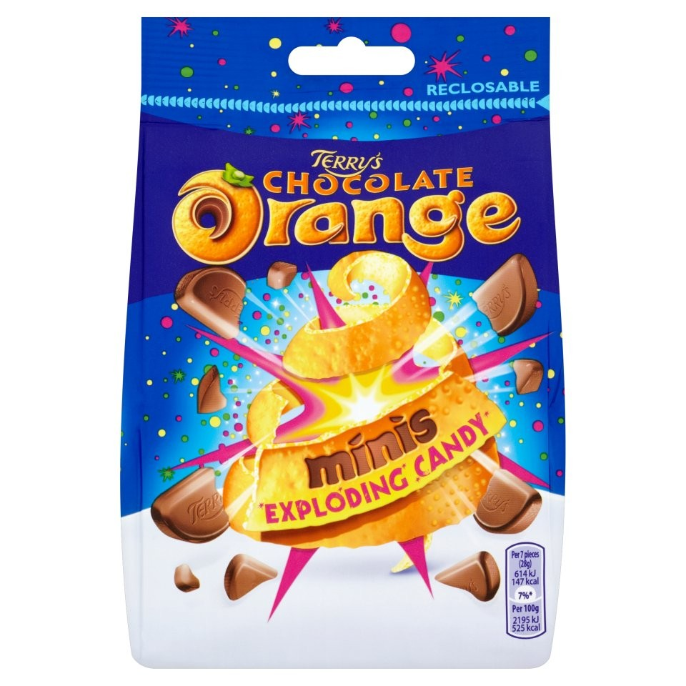 TERRY'S CHOCOLATE ORANGE POUCH 125G