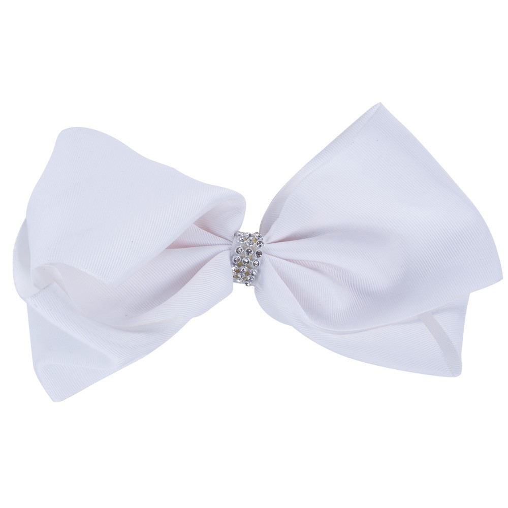 LARGE WHITE BOW&CO BOW