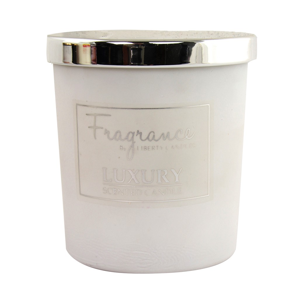 7OZ JAR LUXURY SCENTED CANDLE - WHITE