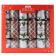 12 HOLLY FOIL CHRISTMAS CRACKERS