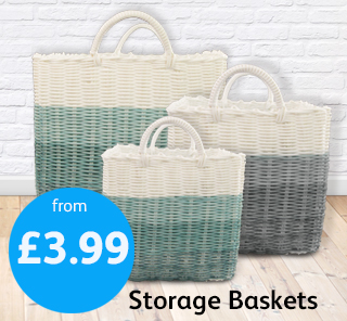 3 Tone Basket Poundstretcher