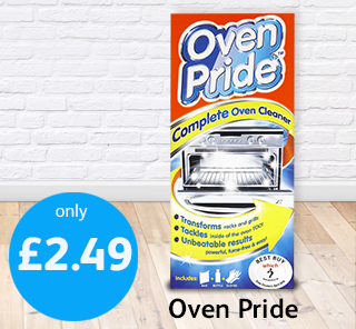 Oven Pride Poundstretcher