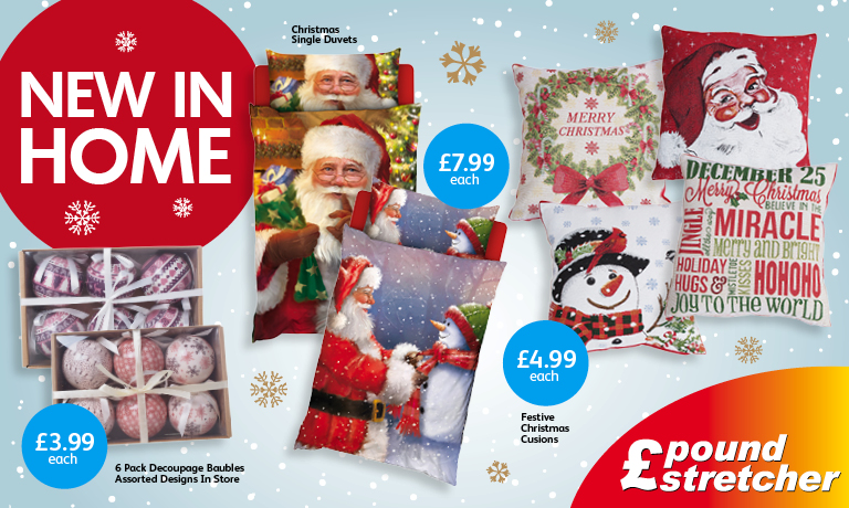 Christmas at Poundstretcher