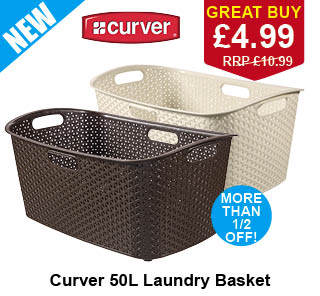 Clothes baskets Poundstretcher
