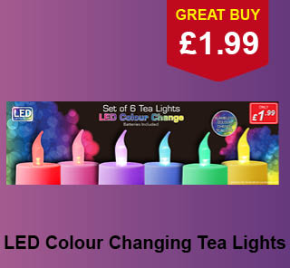 Tea Lights from Poundstretcher