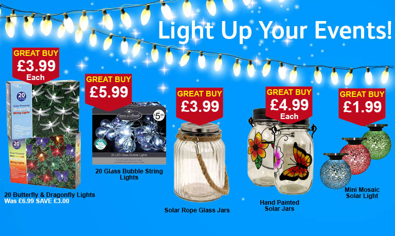 Light Up Your Event