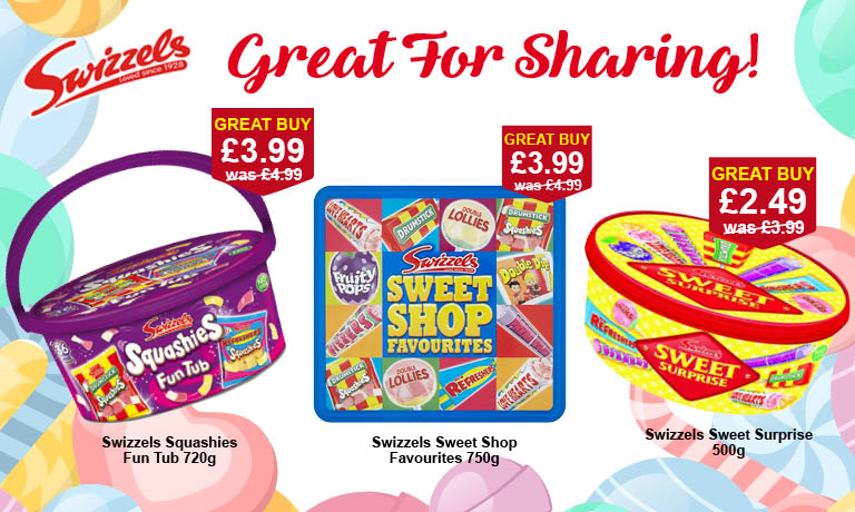 Sweets at Poundstretcher