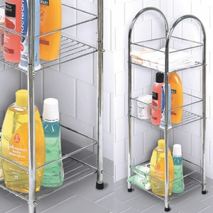 bathroom storage tower