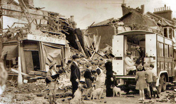The PDSA even saved animals during WWII and the blitz!