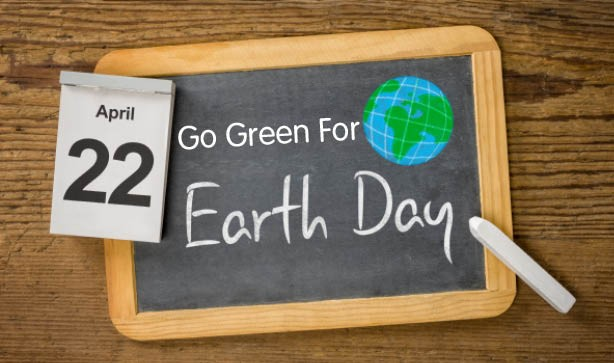 Go Green For Earth Day!