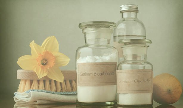 With simple household essentials, you can make your own earth friendly cleaning products