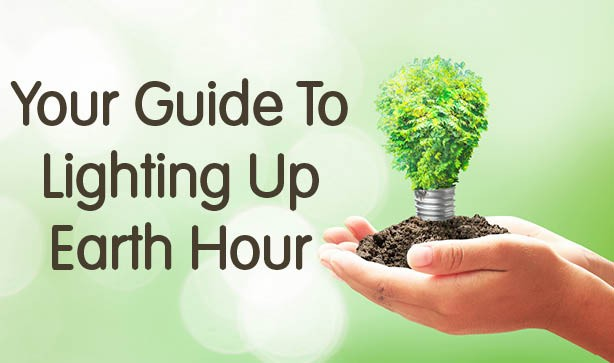 Your Guide To Lighting Up Earth Hour