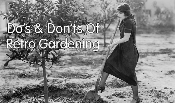 The Do's And Don'ts Of Retro Gardening