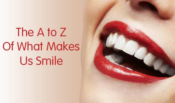 The A To Z Of What Makes Us Smile
