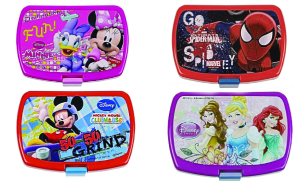 Back To School Lunch Boxes By Disney And Marvel