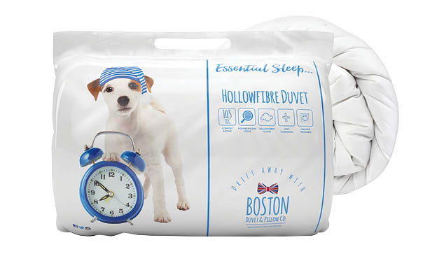 Essential Sleep Bedding Range's Boston Quilt