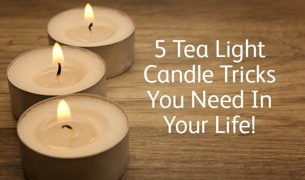 5 Tea Light Candle Tricks You Need In Your Life