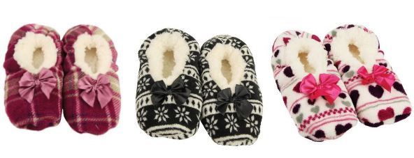 assorted range of slippers