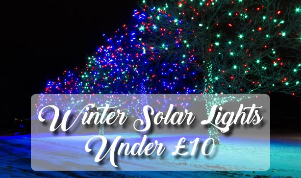 Magical Winter Solar Lights Under £10!!
