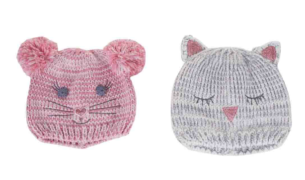 Kids wool Knit Animal Hats