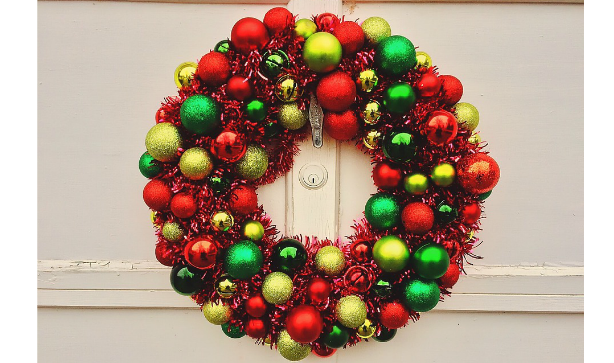 Bauble Christmas Wreaths