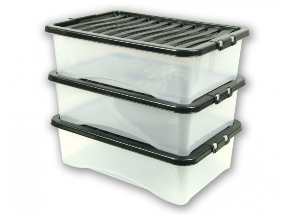 Under Bed Plastic Storage Boxes