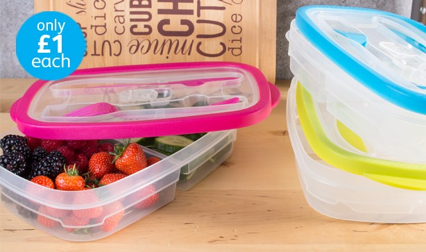 3 part tupperware