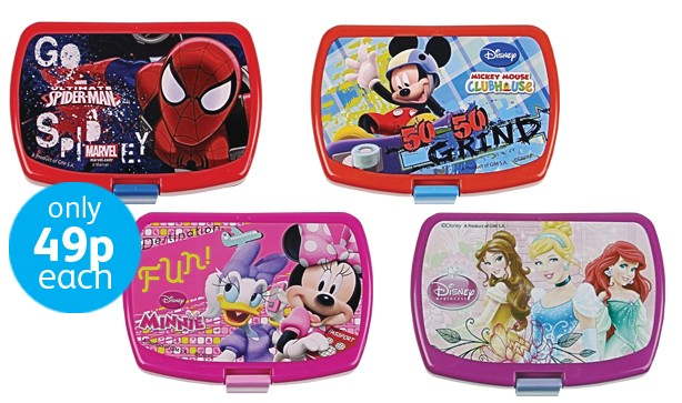 Licensed lunchboxes