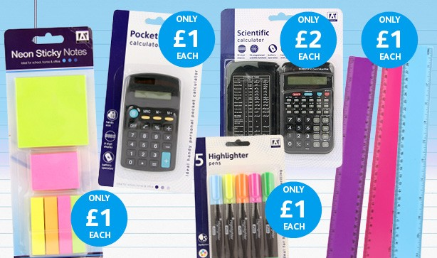 Secondary School Stationery