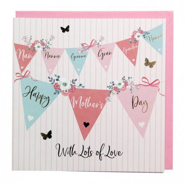 Mother's Day Bunting Card