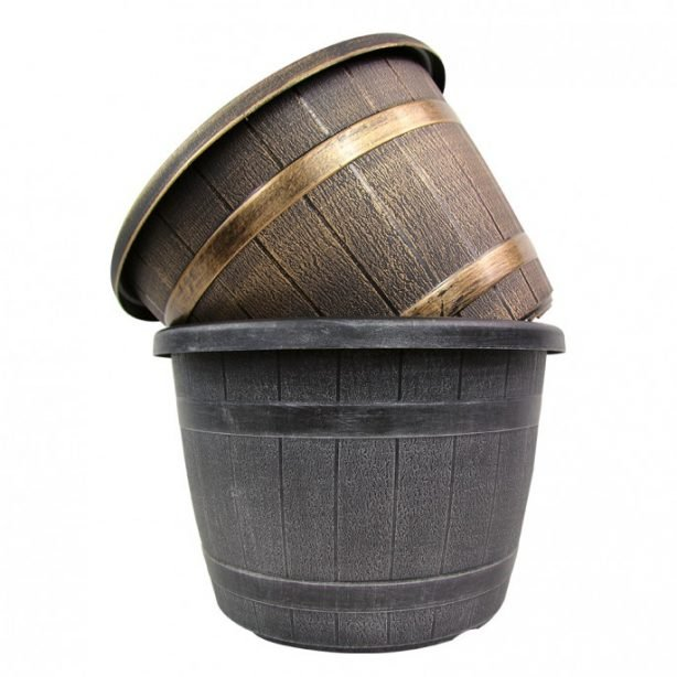 barrel effect planter