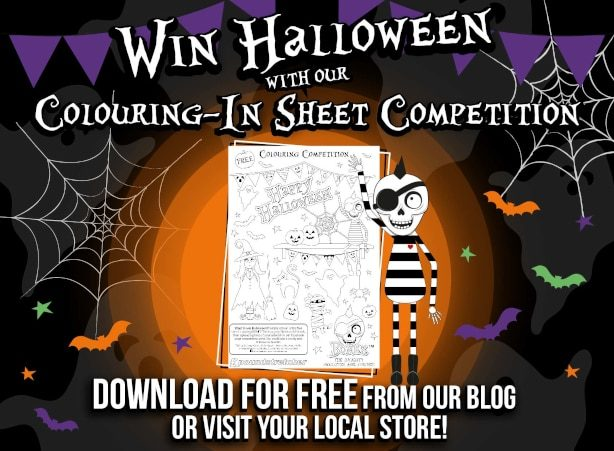 Halloween Colouring In Sheet Competition